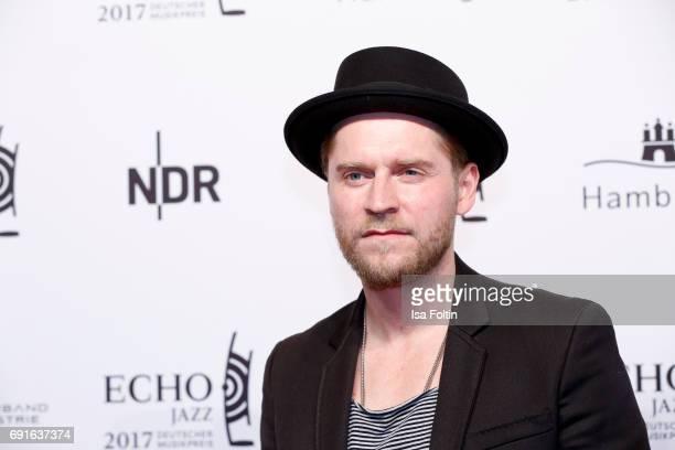 German singer Johannes Oerding during the Echo Jazz 2017 on June 1 2017 in Hamburg Germany