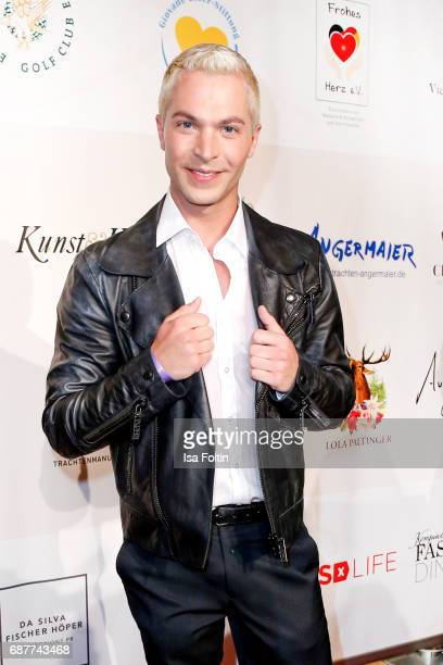German singer Julian David attends the Kempinski Fashion Dinner on May 23 2017 in Munich Germany