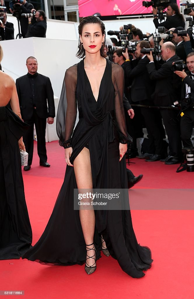 German singer <a gi-track='captionPersonalityLinkClicked' href=/galleries/search?phrase=Lena+Meyer-Landrut+-+German+Singer&family=editorial&specificpeople=6837968 ng-click='$event.stopPropagation()'>Lena Meyer-Landrut</a> attends the 'Loving' premiere during the 69th annual Cannes Film Festival at the Palais des Festivals on May 16, 2016 in Cannes, France.