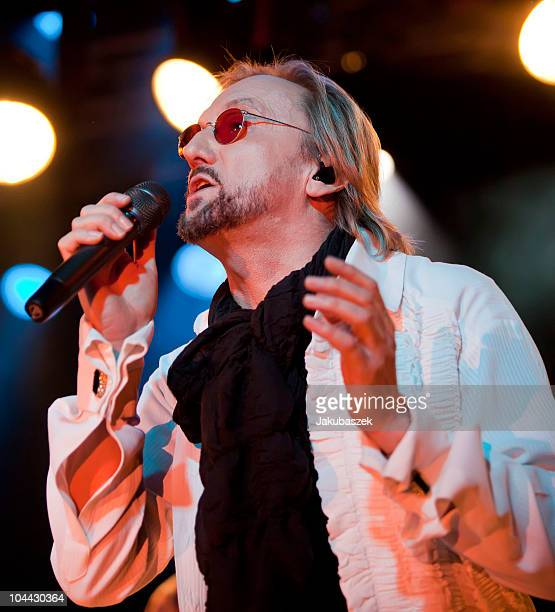 German singer Marius MuellerWesternhagen performs live during an exclusive Clubshow concert at the Postbahnhof on September 24 2010 in Berlin Germany...