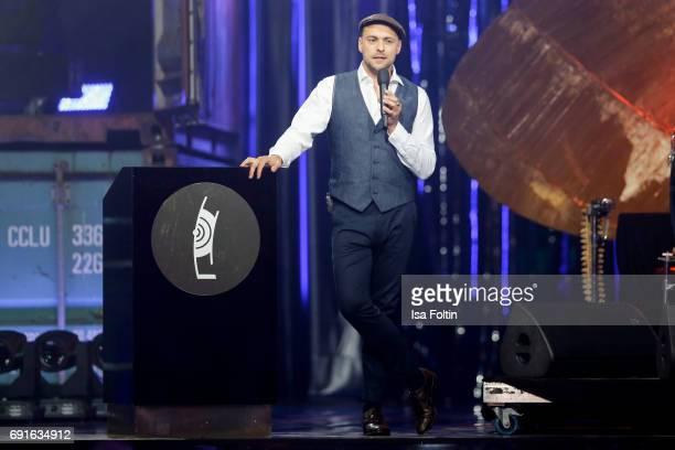 German singer Matz Mutzke during the Echo Jazz 2017 on June 1 2017 in Hamburg Germany