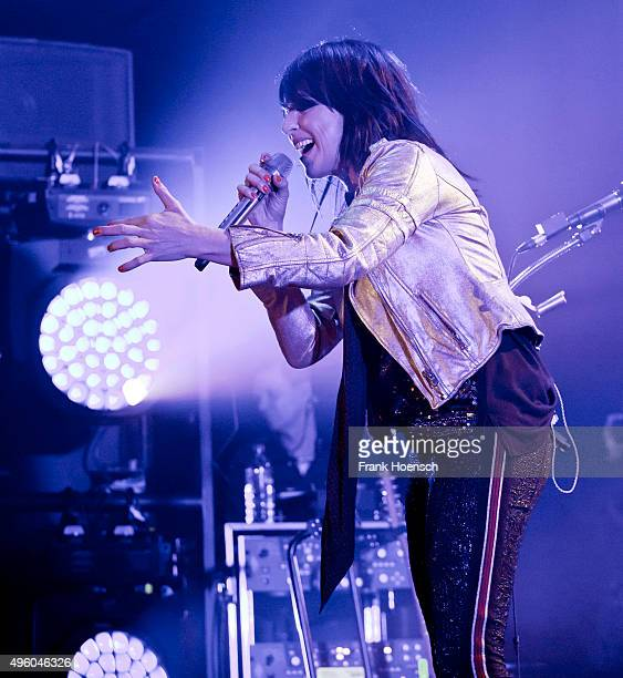German singer Nena performs live during a concert at the MercedesBenz Arena on November 6 2015 in Berlin Germany