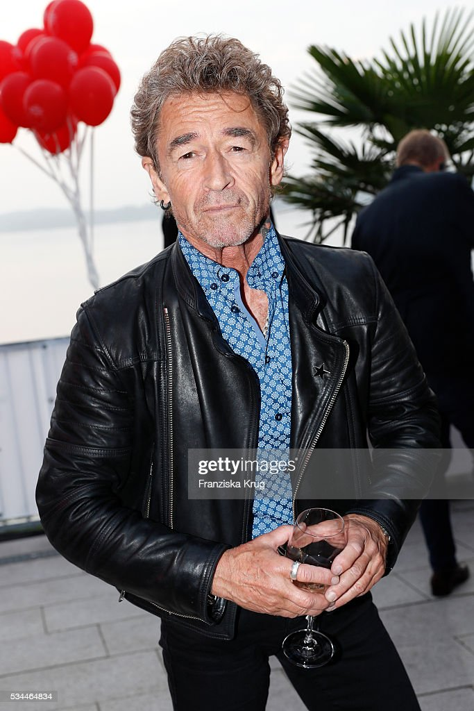 German singer <a gi-track='captionPersonalityLinkClicked' href=/galleries/search?phrase=Peter+Maffay&family=editorial&specificpeople=608850 ng-click='$event.stopPropagation()'>Peter Maffay</a> during the 'Ein Herz fuer Kinder' summer party at Wannseeterrassen on May 26, 2016 in Berlin, Germany.