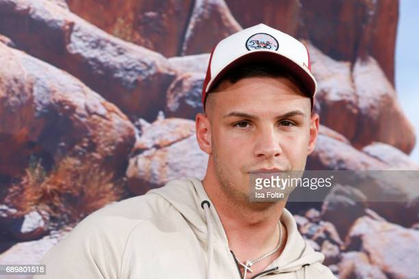 German singer Pietro Lombardi attends the 'Global Gladiators' exclusive preview at Astor Film Lounge on May 29 2017 in Berlin Germany