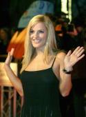 German singer Sandy Moelling arrives at Radio Regenbogen Award 2005 at Schwarzwaldhalle on March 18 2005 in Karlsruhe Germany