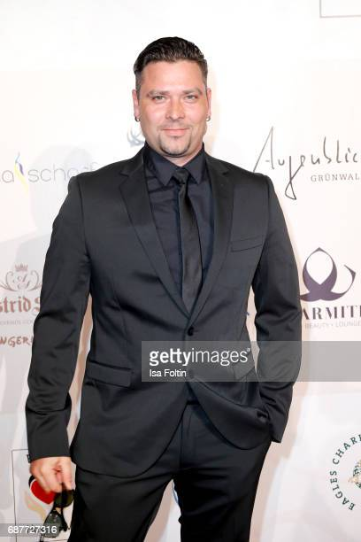 German singer Sebastian Haemer attends the Kempinski Fashion Dinner on May 23 2017 in Munich Germany