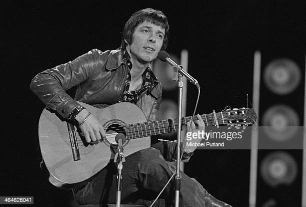German singersongwriter Reinhard Mey performing at the Grand Gala in Amsterdam Netherlands 15th February 1974