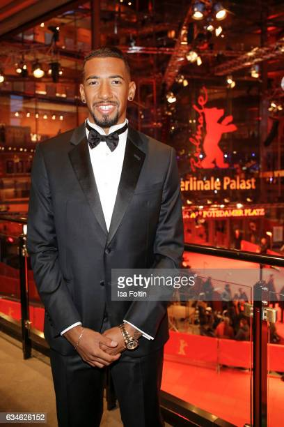German soccer star Jerome Boateng attends the Audi Lounge Night Audi At The 67th Berlinale International Film Festival on February 9 2017 in Berlin...