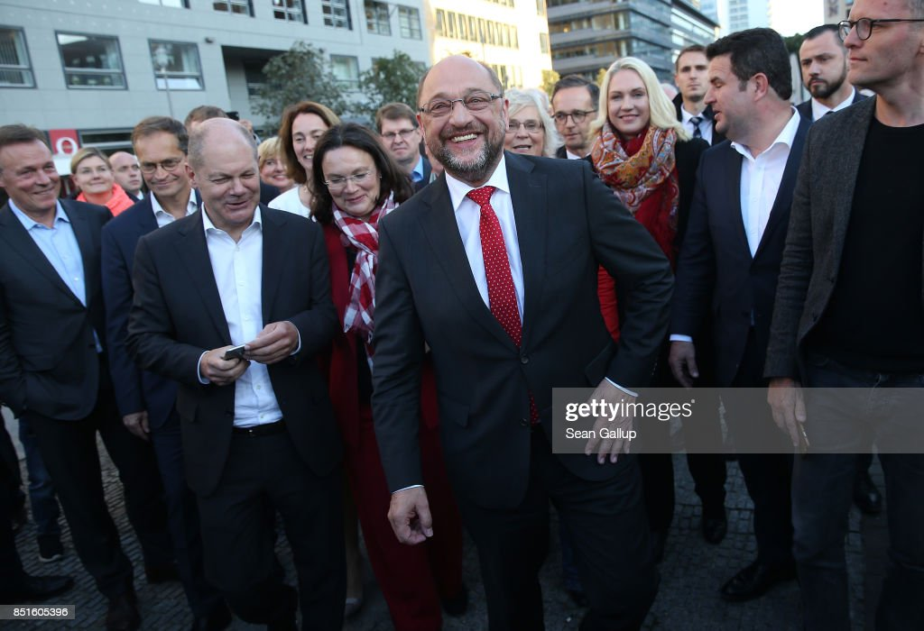 Schulz Holds Election Rally In Berlin