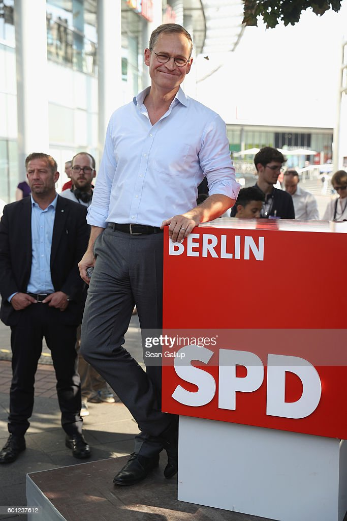 Social Democrats Campaign In Berlin State Elections