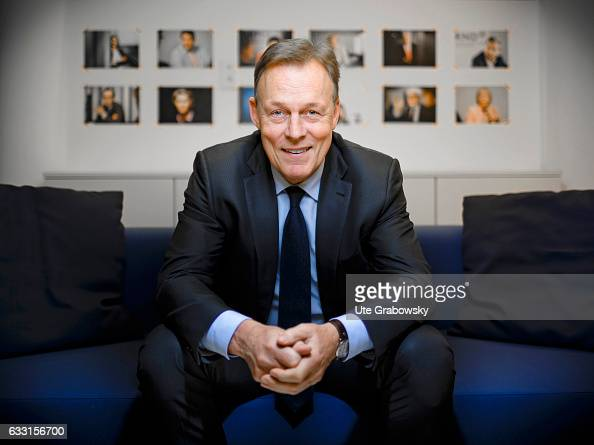 German Social Democrats Bundestag faction leader Thomas Oppermann poses during a portrait session on January 17 2017 in Berlin Germany