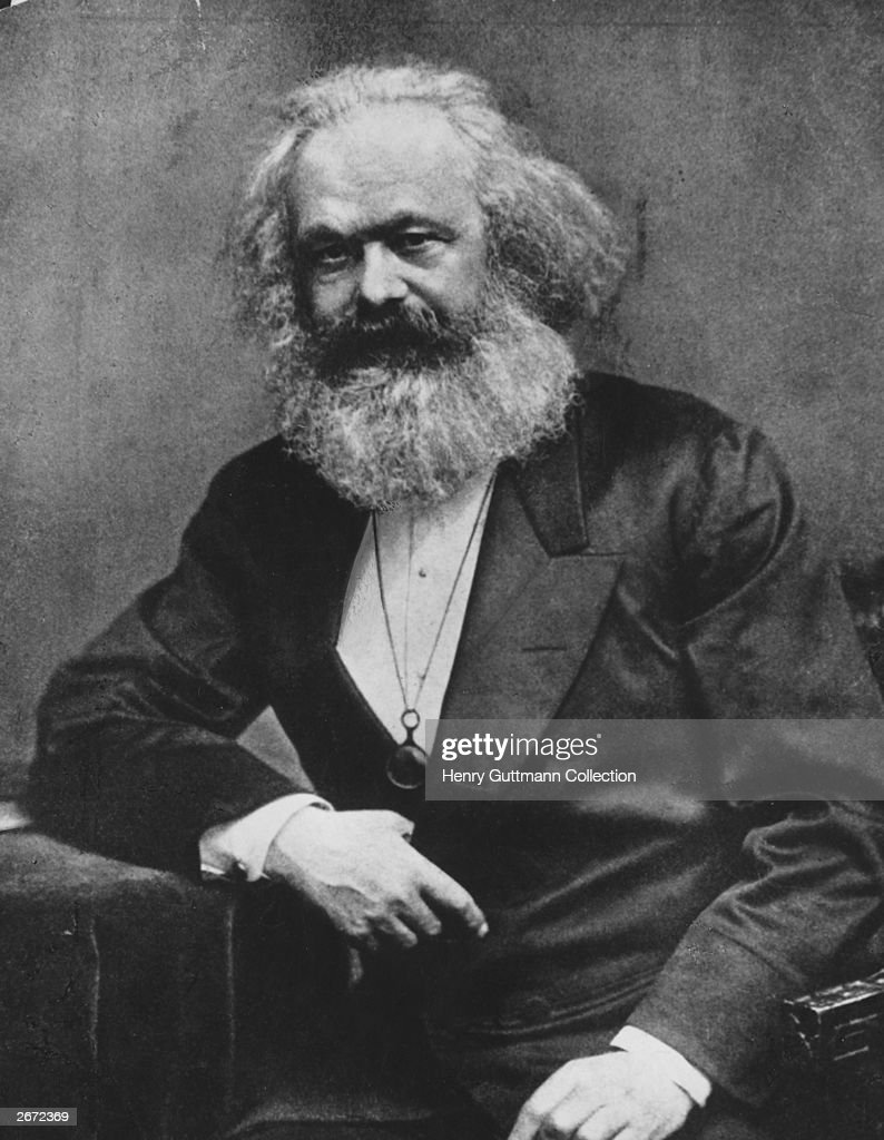 German social political and economic theorist Karl Marx