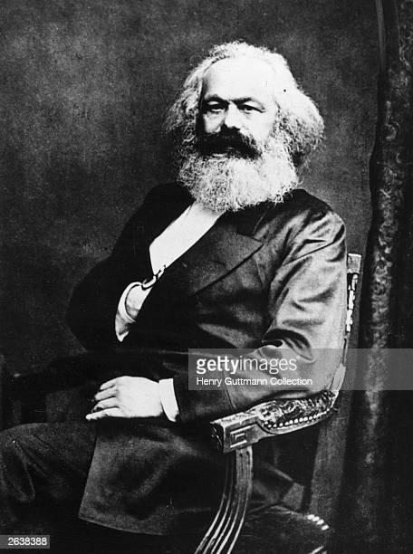 German social political and economic theorist Karl Marx the inspiration of modern international communism