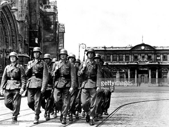 German soldiers at Bordeaux France World War 2