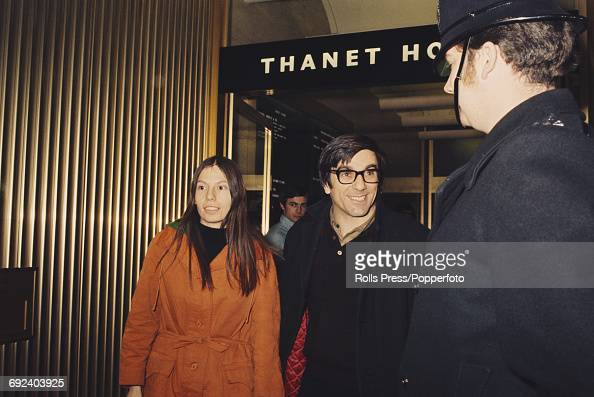 German student activist Rudi Dutschke pictured with his wife Gretchen Klotz outside Thanet House in London on 22nd December 1970 Rudi Dutschke would...