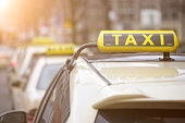 german taxi signs