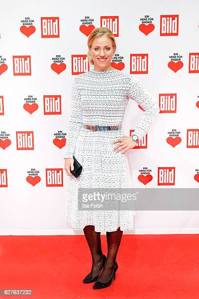 German tennis player Angelilque Kerber attends the Ein Herz Fuer Kinder gala on December 3 2016 in Berlin Germany