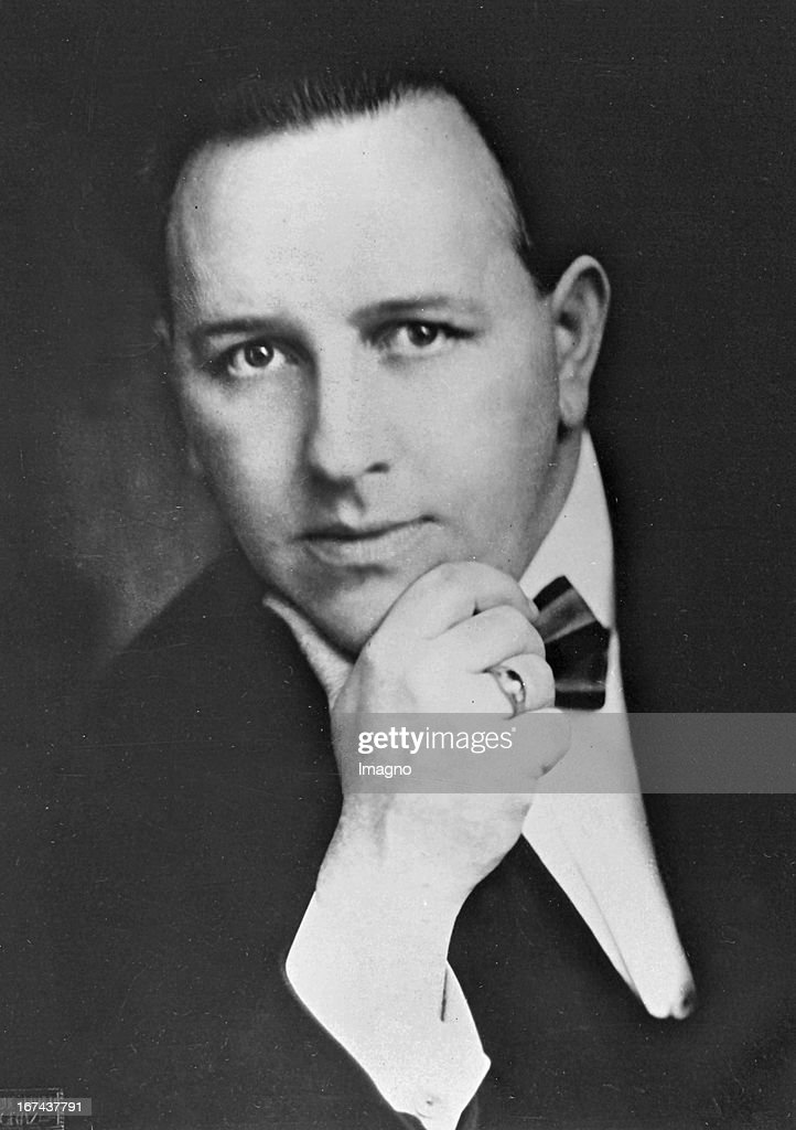 German theatre director Theo Modes (1888-1962). About 1930. Photograph. (Photo by Imagno/Getty Images) Der deutsche Regisseur und Intendant Theo Modes (18881962). Um 1930. Photographie