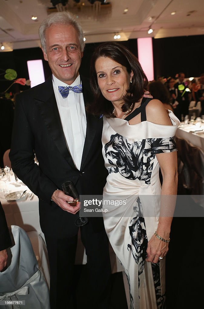 German Transport Minister Peter Ramsauer and his wife Susanne Ramsauer attend the 2012 Bundespresseball (Federal Press Ball) at the Intercontinental Hotel on November 23, 2012 in Berlin, Germany.
