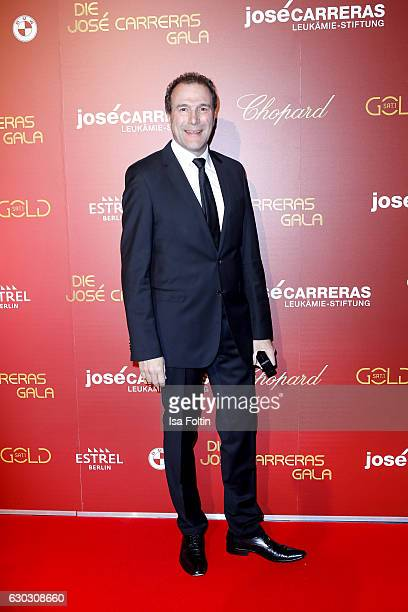 German TV judge Alexander Hold attends the 22th Annual Jose Carreras Gala on December 14 2016 in Berlin Germany