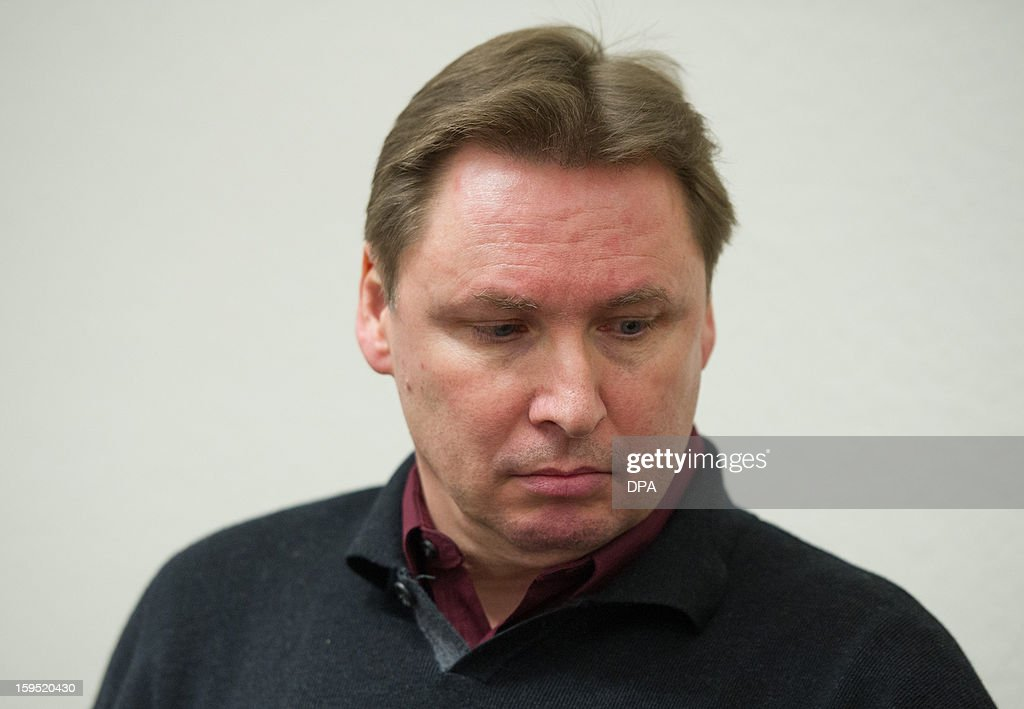 German Ulrich Engler arrives at court on January 15, 2013 in Mannheim, southern Germany. Engler who was sought for alleged participation in a $100 million ... - german-ulrich-engler-arrives-at-court-on-january-15-2013-in-mannheim-picture-id159520430