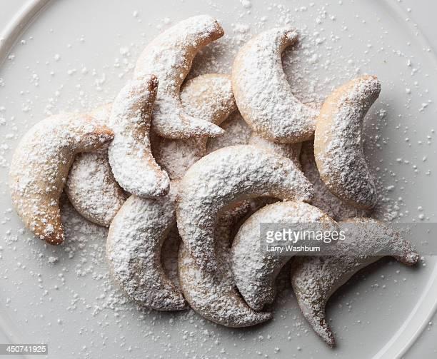 German vanilla biscuits (vanilla kipferl)