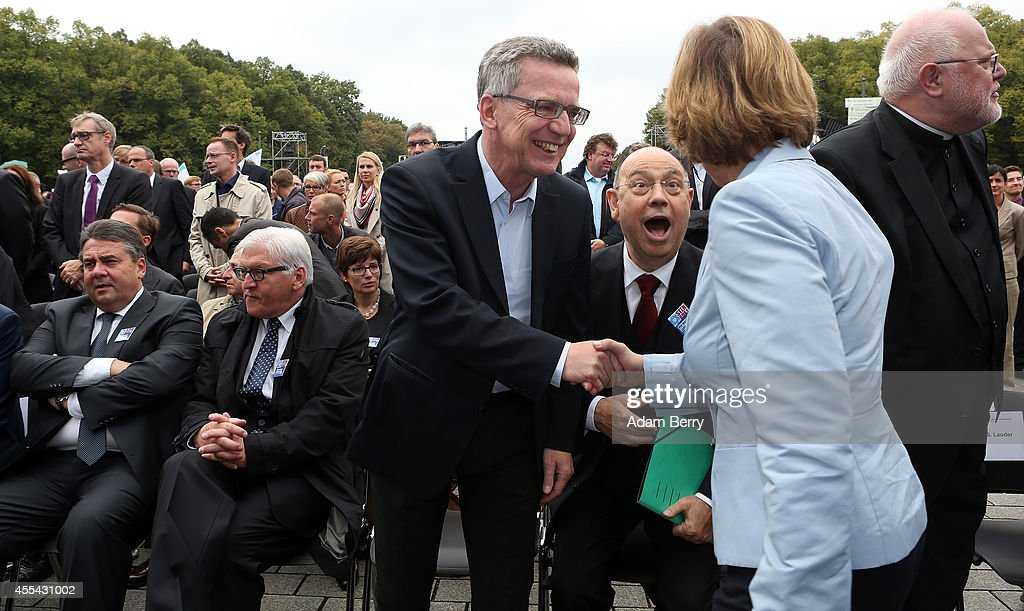 German Vice Chancellor and Economy and Energy Minister Sigmar Gabriel German Foreign Minister FrankWalter Steinmeier German Interior Minister Thomas...