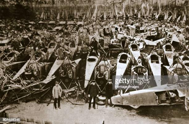 German war materiel destroyed under the terms of the Armistice c1918c1919 Under the terms of the Armistice ending the First World War the German...