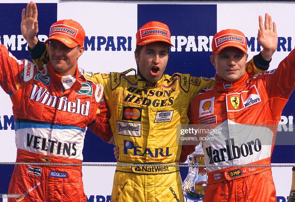 German Williams-Supertec driver Ralf Schumacher, J : News Photo
