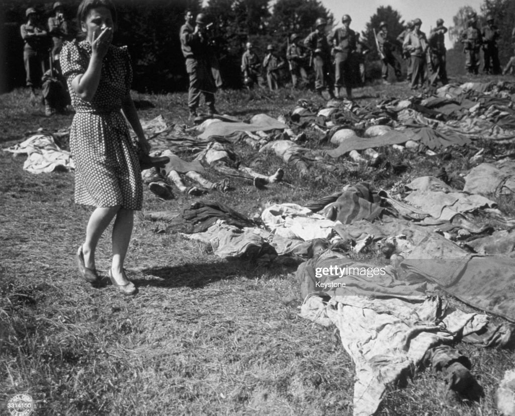 The liberation of concentration camps across europe getty images
