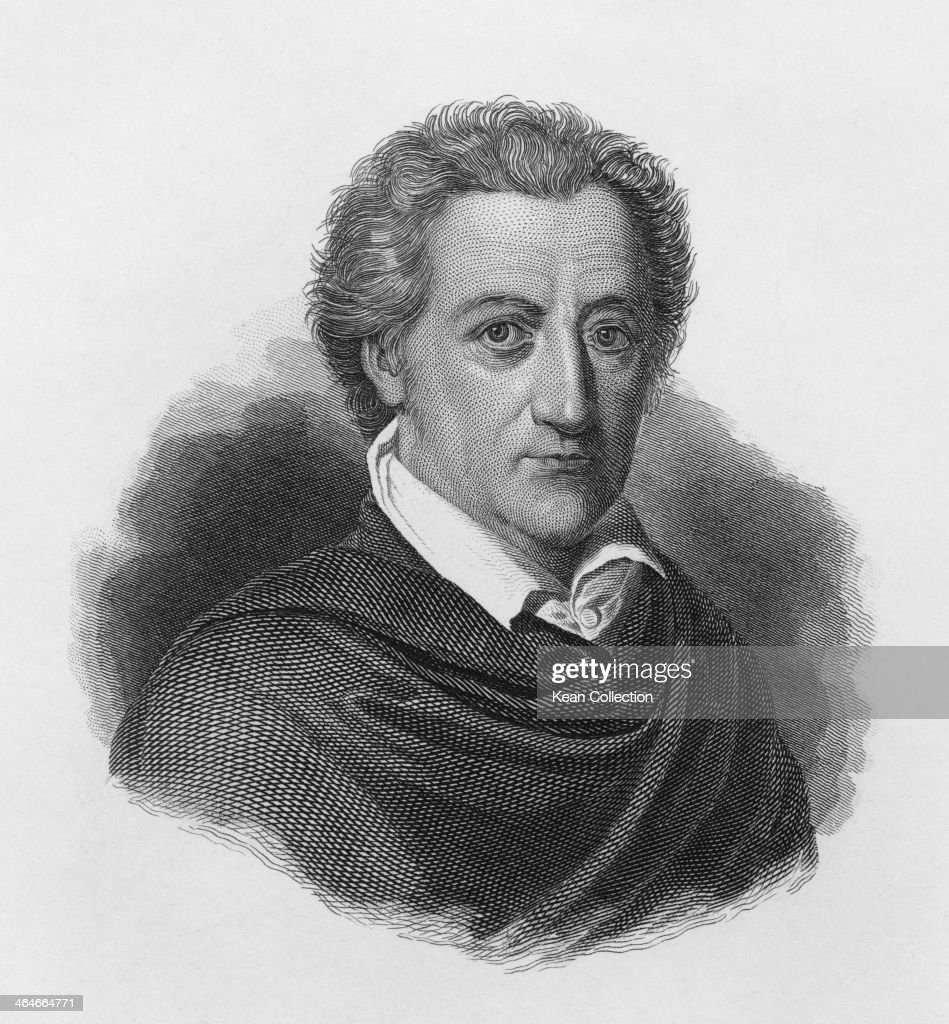 German writer <a gi-track='captionPersonalityLinkClicked' href=/galleries/search?phrase=Johann+Wolfgang+von+Goethe&family=editorial&specificpeople=98976 ng-click='$event.stopPropagation()'>Johann Wolfgang von Goethe</a> (1749 - 1832), circa 1790. An engraving by F. Weber.