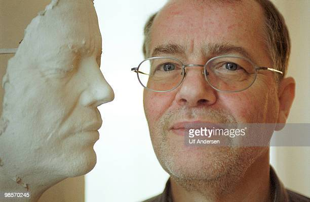 German writer Volker Braun at poses on January 27 2001 in BerlinGermany