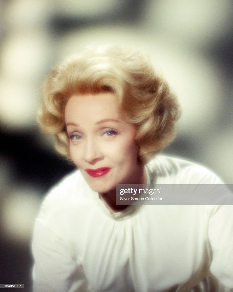 German-American actress <a gi-track='captionPersonalityLinkClicked' href=/galleries/search?phrase=Marlene+Dietrich&family=editorial&specificpeople=70018 ng-click='$event.stopPropagation()'>Marlene Dietrich</a> (1901 - 1992), circa 1955.