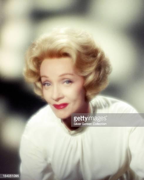 GermanAmerican actress Marlene Dietrich circa 1955