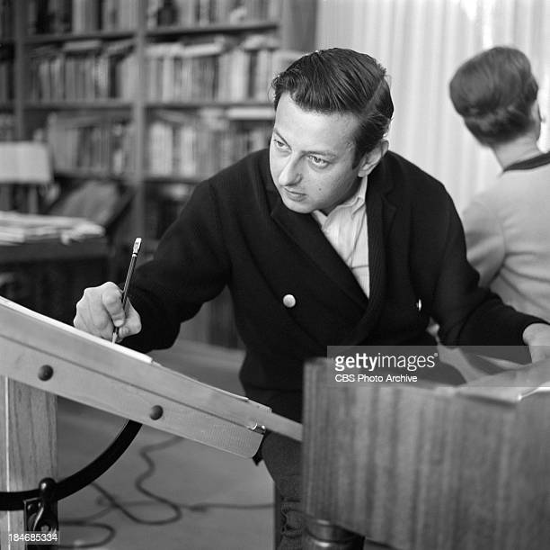 GermanAmerican pianist Andre Previn on THE TWENTIETH CENTURY Episode called 'The Songs of Harold Arlen' Image dated November 27 1963