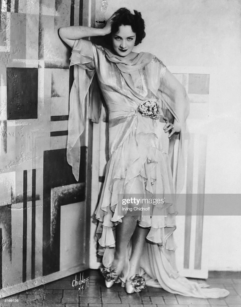 German-born actress Marlene Dietrich (1901 - 1992) as a brunette.