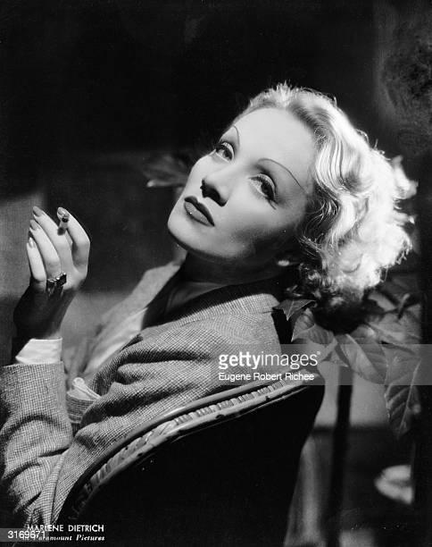Germanborn actress Marlene Dietrich
