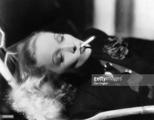 Germanborn actress Marlene Dietrich the epitome of screen sensuality