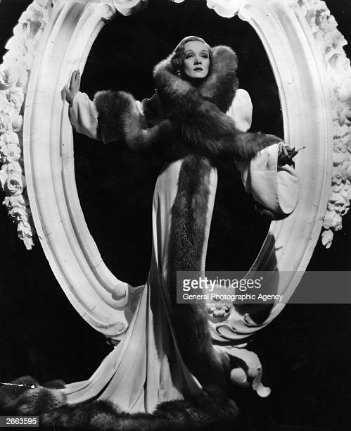 Germanborn American film star Marlene Dietrich Original Publication People Disc HC0079
