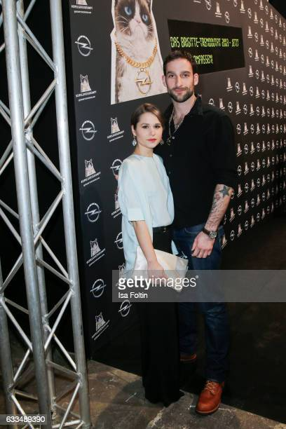 Germanbrasilian actress Cristina do Rego and her boyfriend german actor Matthias Weidenhoefer attend the Presentation of the new Opel Calender 2017...