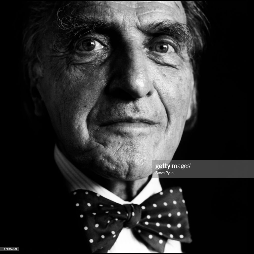 German-Canadian philosophy Professor Raymond Klibansky (1905 - 2005) at Oxford, 12th August 1992.