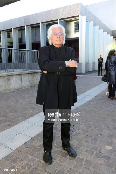 Germano Celant attends a 'Private view of 'TV 70 Francesco Vezzoli Guarda La Rai' at Fondazione Prada on May 7 2017 in Milan Italy
