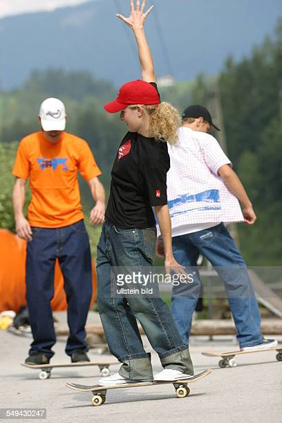 Young persons skateboarding