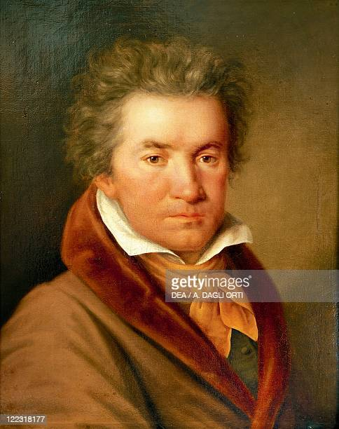 Germany 18th19th century Portrait of Ludwig van Beethoven German composer and pianist
