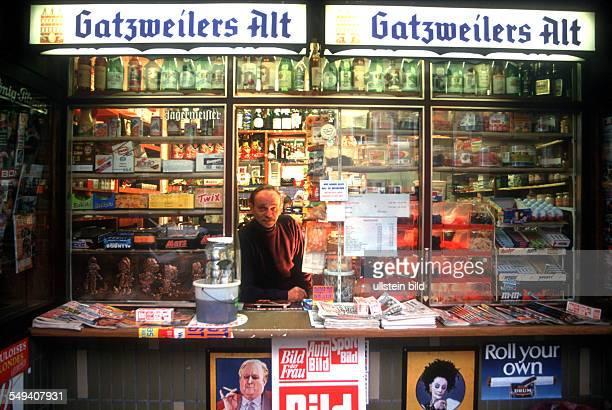 a kiosk in Essen