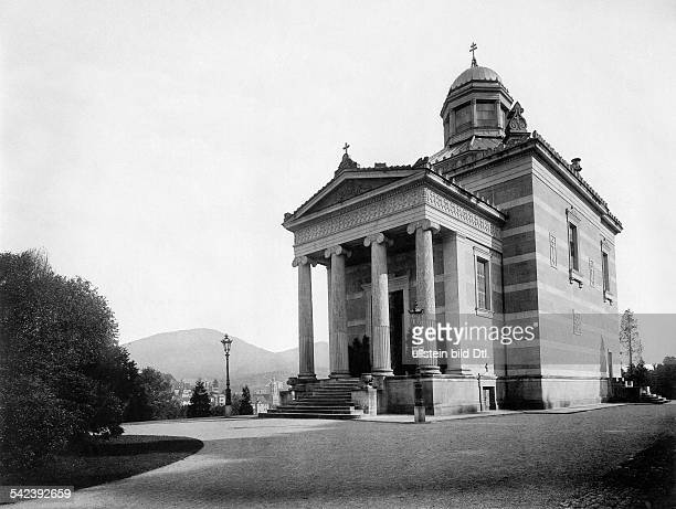 Germany Baden Grand Duchy BadenBaden 'Stourdza' chapel Photographer Stengel Co 1900Vintage property of ullstein bild
