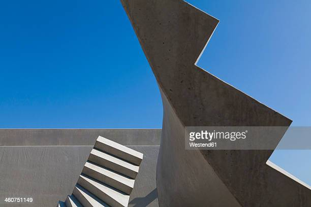 Germany, Baden Wuerttemberg, Concrete of stairs