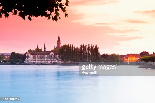 Germany, Baden Wuerttemberg, Constance, View of Constance lake