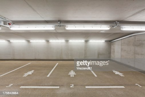 Germany, Baden Wuerttemberg, Stuttgart, Car park area for women