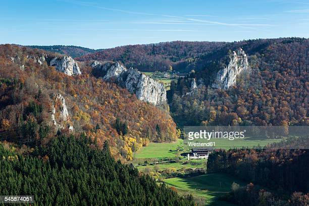 Germany, Baden Wuerttemberg, Tuttlingen District, Upper Danube Nature Park in autumn
